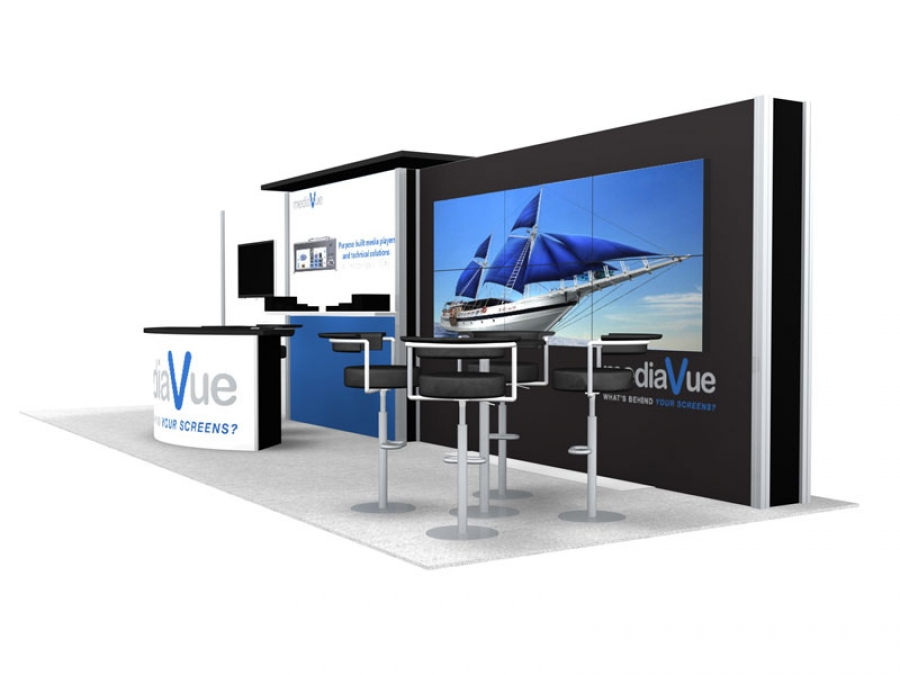 10x30 Turn-Key Trade Show Booth Design #1278