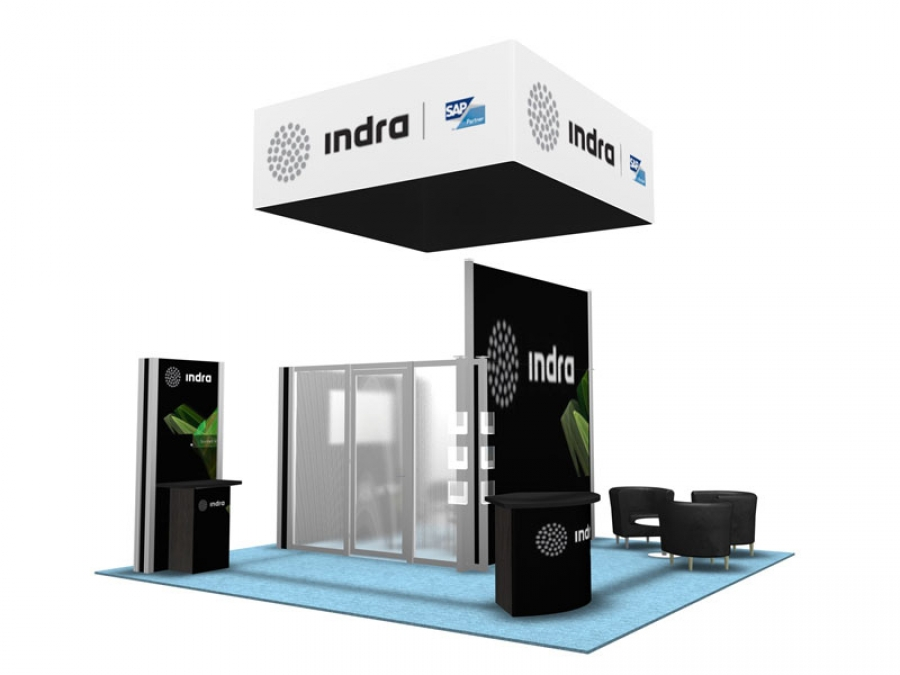 20x20 Turn-Key Trade Show Booth Design #1301