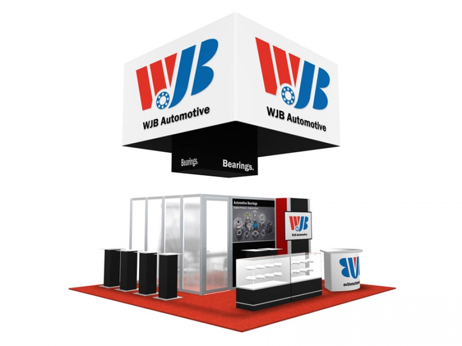 20x20 Turn-Key Trade Show Booth Design #1239